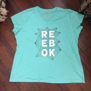 Reebok NWOT short sleeved Active Tee Top sz 2X